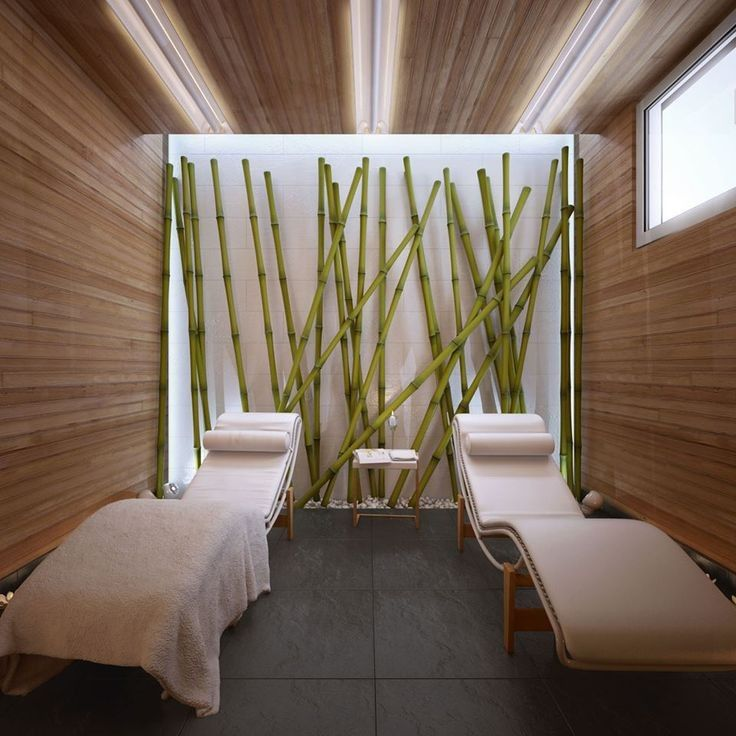 I Like The Bamboo Art On The Wall May Be In The Bathroom