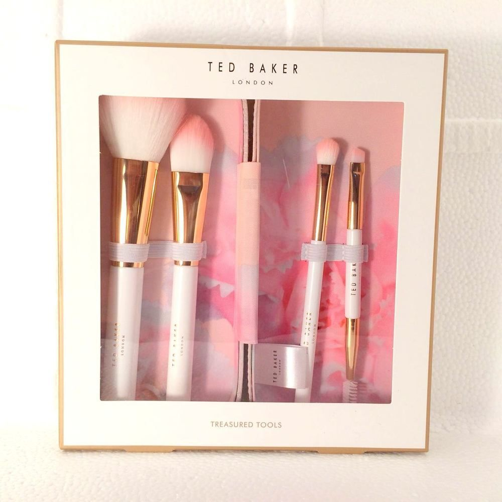 Ted Baker Treasured Tools 4 Piece Brush Set Amp Case