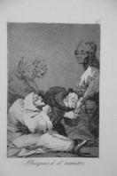 Francisco GOYA - Obsequio a el maestro - L'incartade Lille