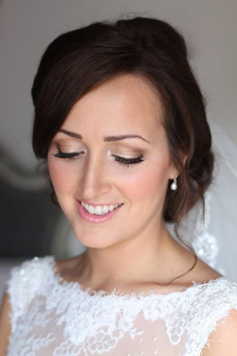 Soft Bridal Make Up Gold Eyeshadow Natural Wedding Makeup Www