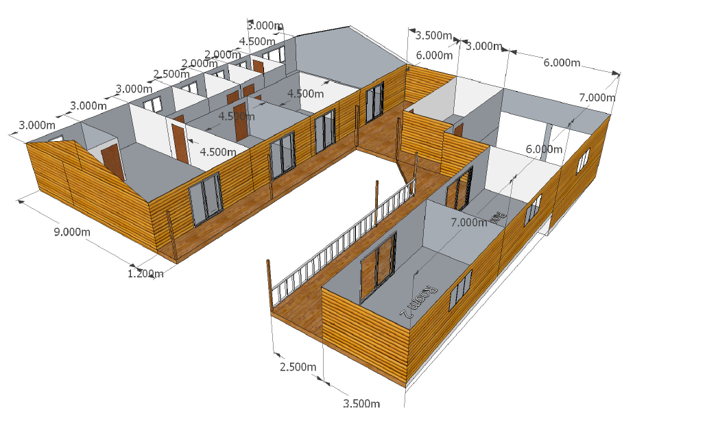 Custom Designs Wendy Houses Pretoria And Cape Town 012 670 9068 Wendy House Custom Design Nutec Houses