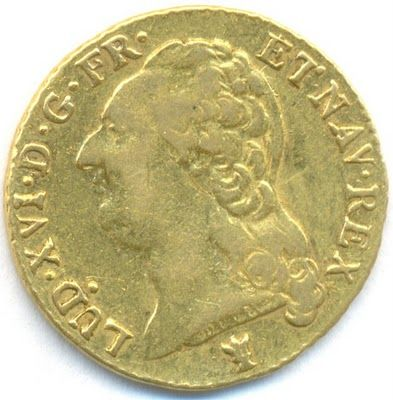 France Gold Louis D Or Coin Of 1786 Moedas Antigas Selos Moedas Antigas Do Brasil