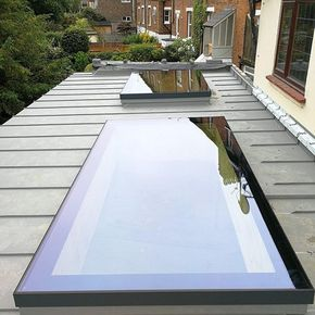 A sleek XACT Pure Glass Flat Roof Light installation in Chislehurst 💙 - Find out more about this product in the link in bio ↑ - #rearextension #homeextension #homeimprovement #houseextension #homeinspo #extensionidea #extensioninspo #skylight #rooflight #rooflantern #glassroof #roofglass #flatroof #naturallight #skyview #roofwindow #contemporarydesign #modernstyle #framelessglassClick or tap the image to go to our website!