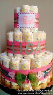 Scatola Segreta: Card e torta per Lisa