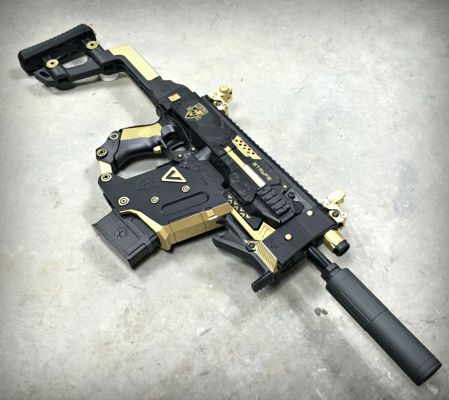 For my next nerf war? Nerf Stryfe Kriss Vector / Conversion Kit by  JLCustomsCreations