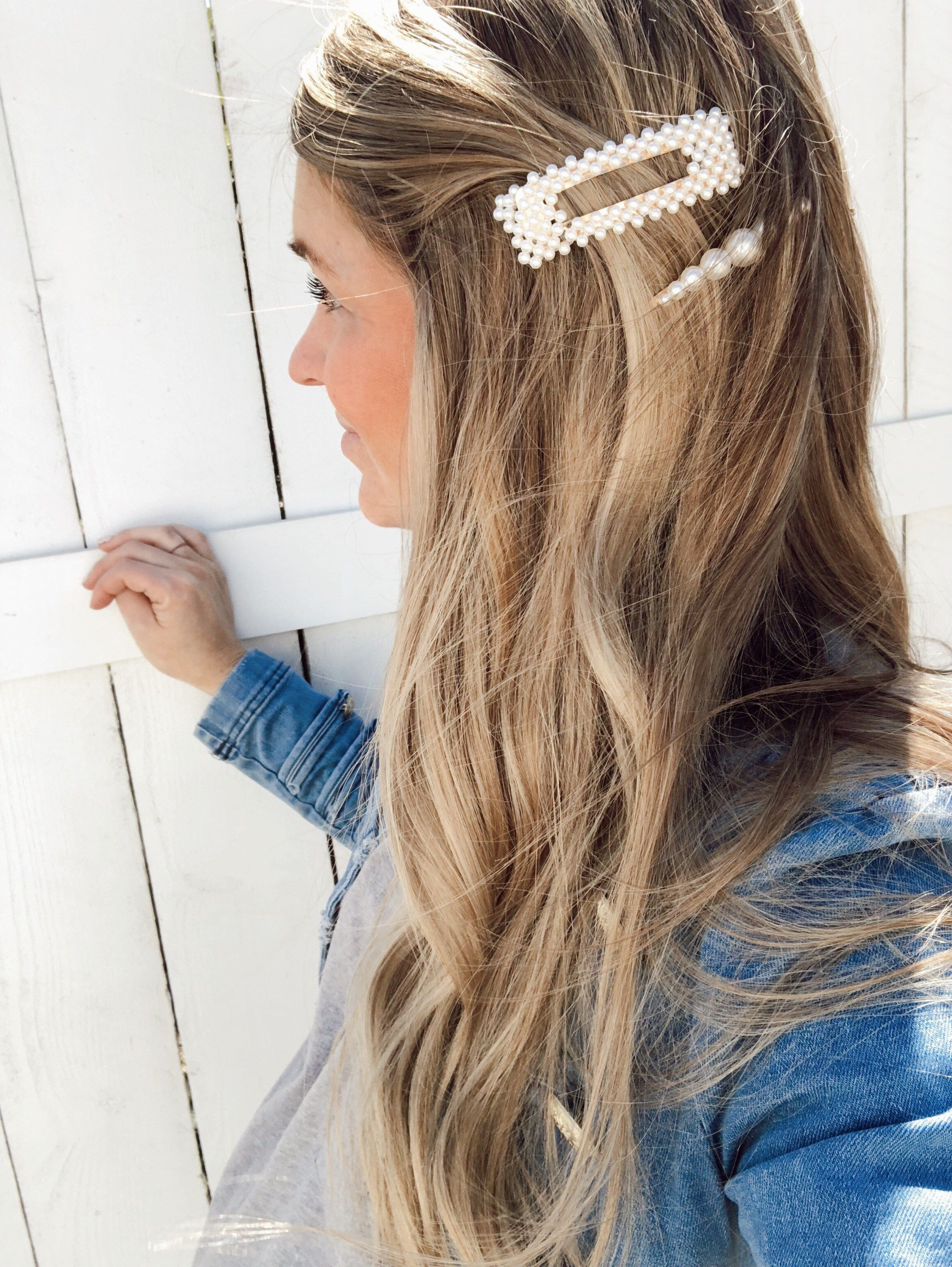 Trend Report: Hair Clips & Barrettes  Hair styles, Hair clips