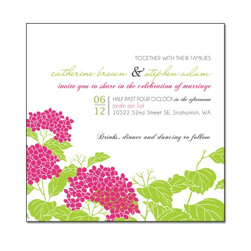 interesting layout for wording   Garden wedding ...