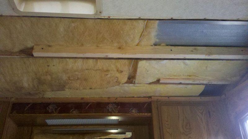 Replacing Water Damaged Camper Frame Camper Interiors
