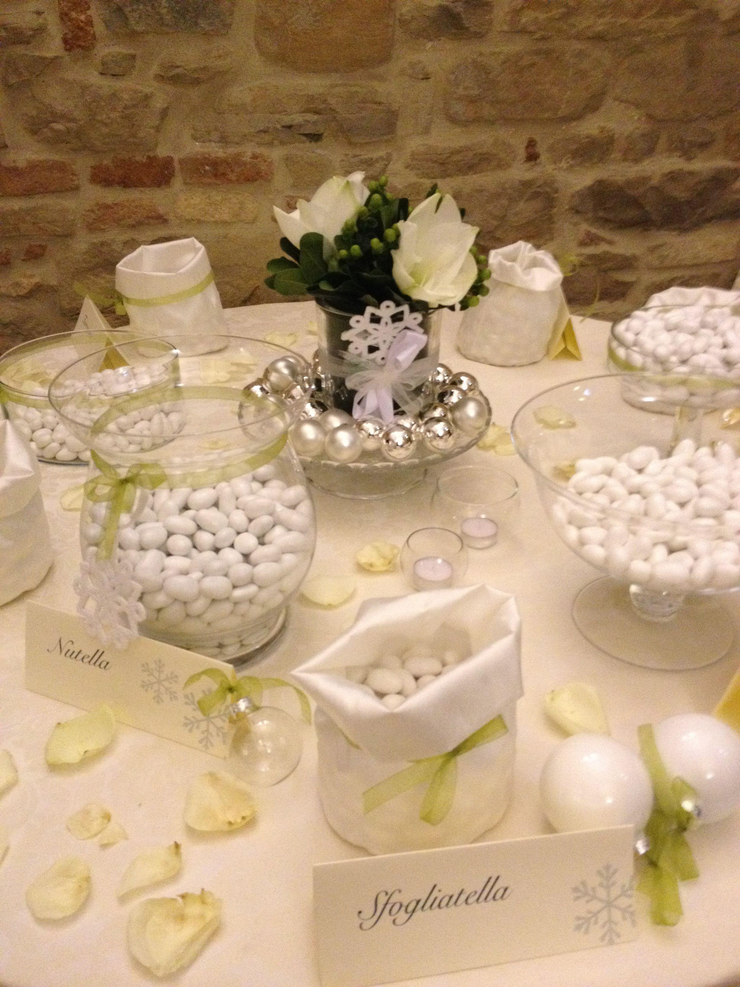 Come Addobbare Un Tavolo Per Confettata confettata tema natale | confetti, natale