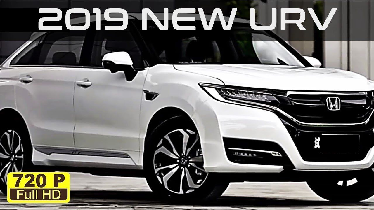 Honda Urv 2019 First Ride From 2019 Honda Urv All New Amazing White Car Interior And Exterior In Honda Urv 2019 Honda New Suv Honda City