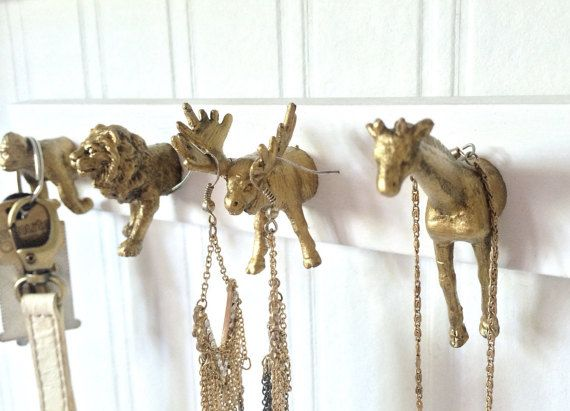 Animal Hook Key Rack Key Holder Key Hooks Jewelry and Small