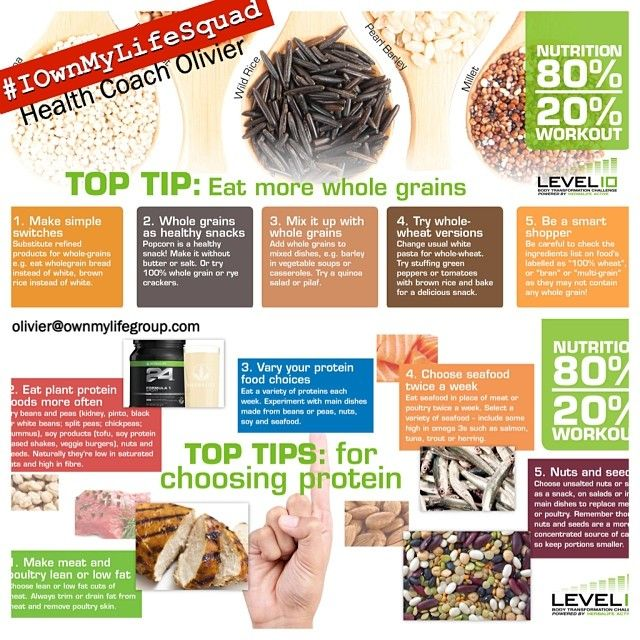 grains and protein