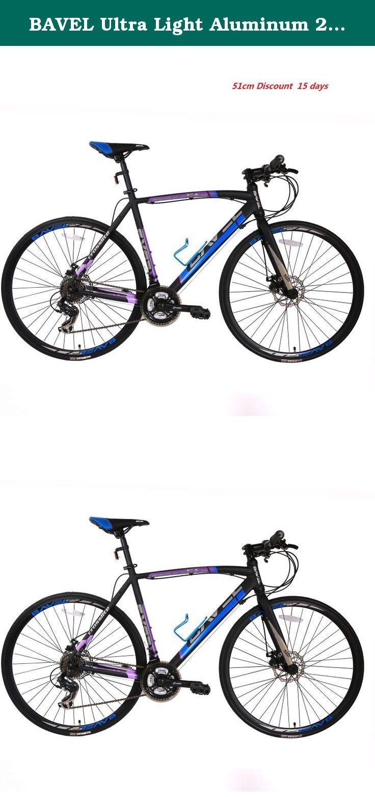 BAVEL Ultra Light Aluminum 21 Speed 700C Road Bike Racing