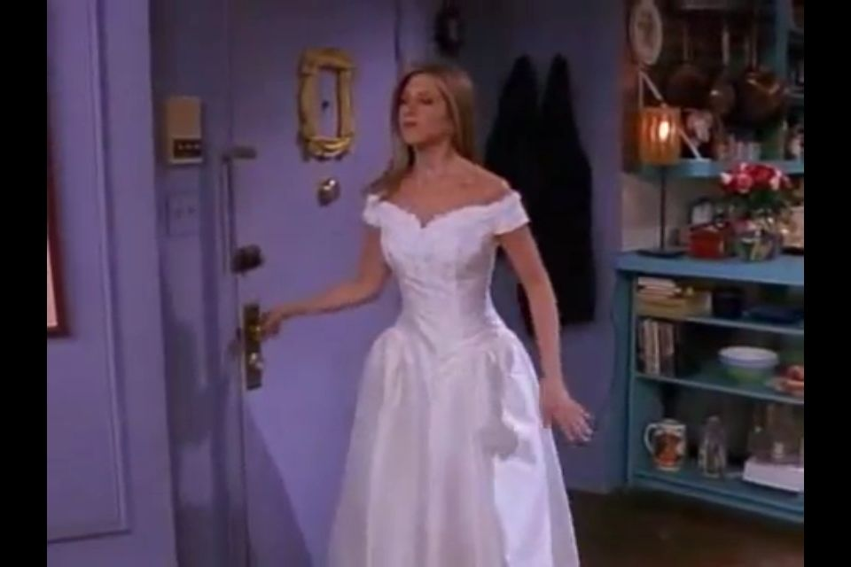Weddingdress Inspiration Dress Rachel Friends Wedding Stuff