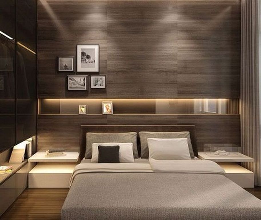 20 Mid Century Modern Master Bedroom Designs For Inspiration Master Bedroom Interior Luxurious Bedrooms Modern Bedroom Design