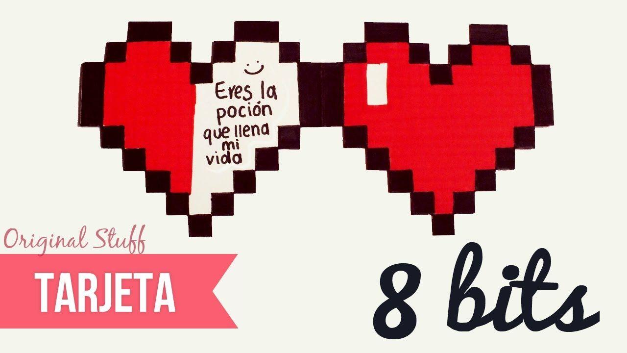 Tarjeta de Corazón [8bits] - Original Stuff - YouTube