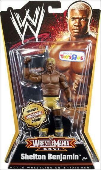 WWE Elite 63 Mattel Toy Wrestling Action Figure Shelton Benjamin