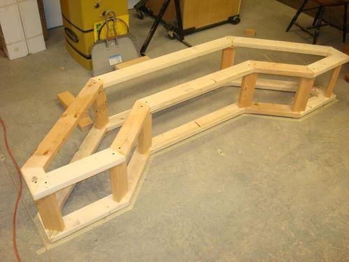 Peachy Bay Window Bench By Captferd Lumberjocks Com Alphanode Cool Chair Designs And Ideas Alphanodeonline