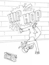 Coloring Pages Of Hip Hop Google Search Dance Coloring Pages