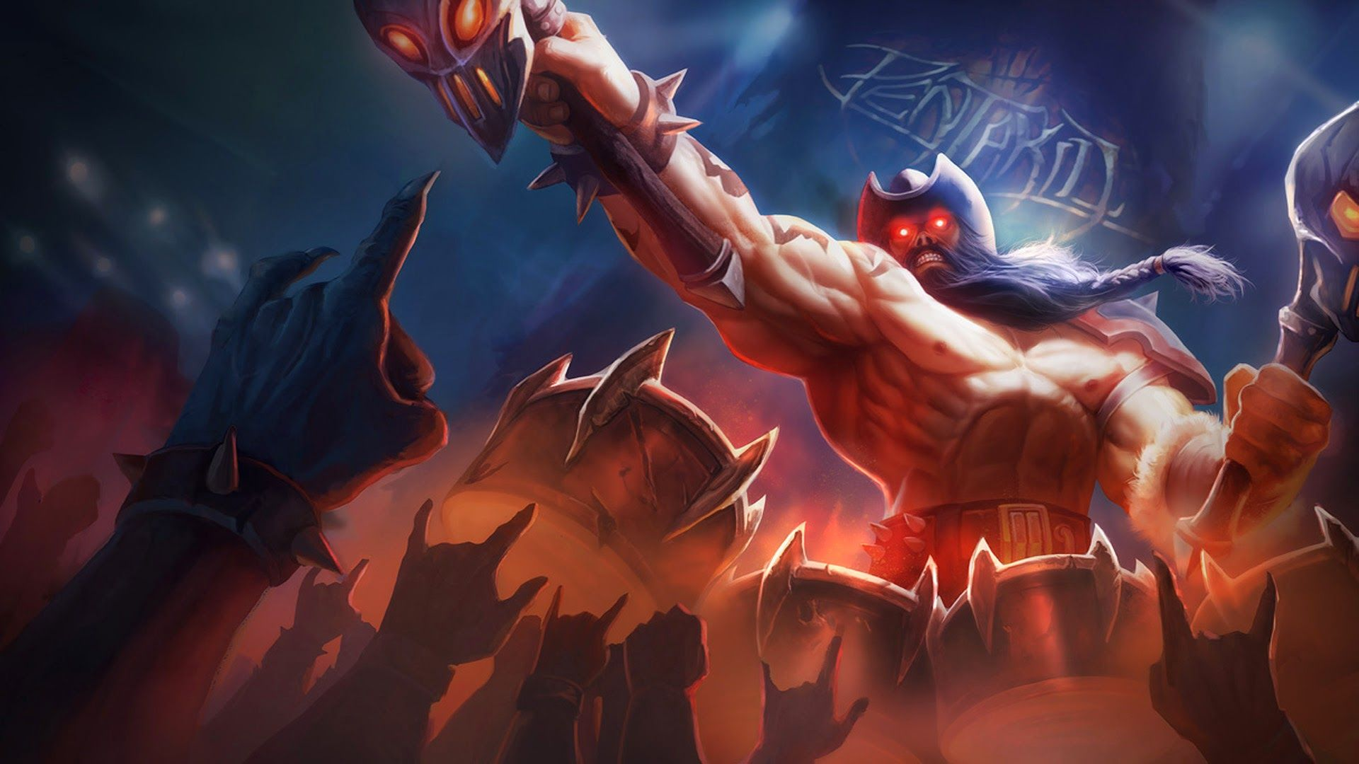 Olaf Pentakill League Of Legends 8n Patch Personagens