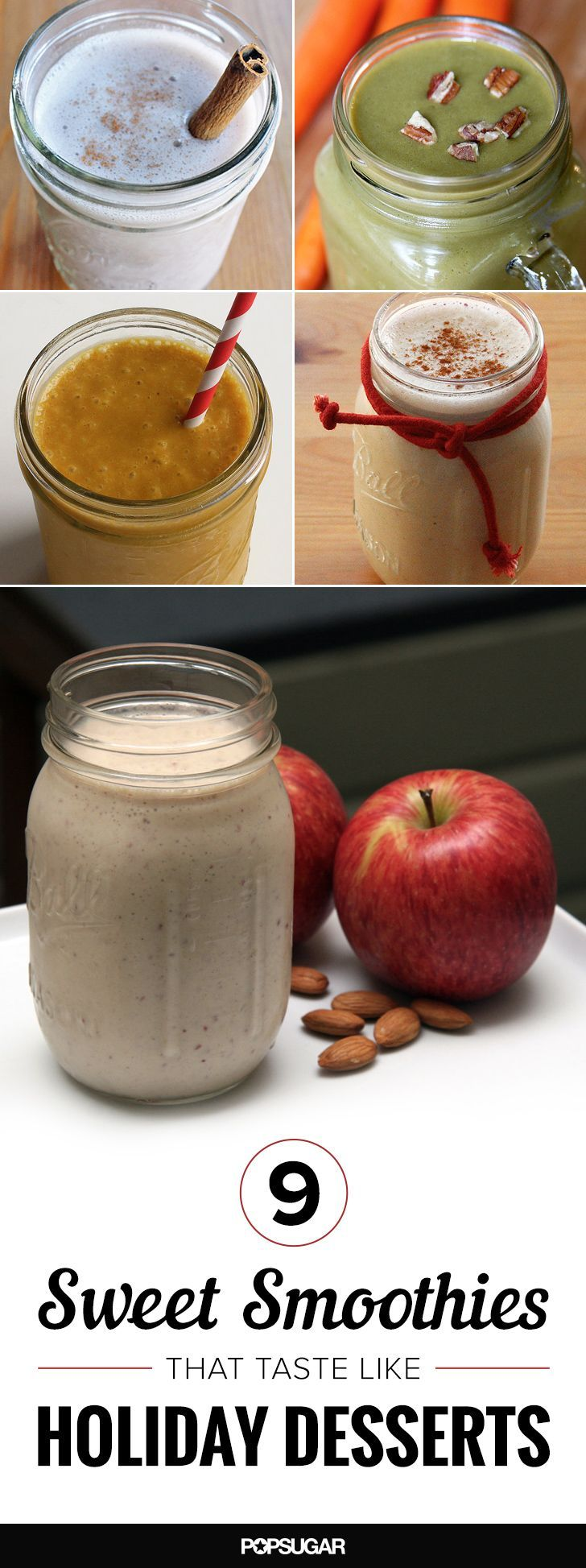 9 Holiday-Inspired Smoothie Recipes