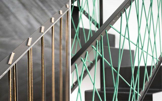 Ideas para decorar con barandillas y pasamanos separar - Pasamanos de cuerda ...
