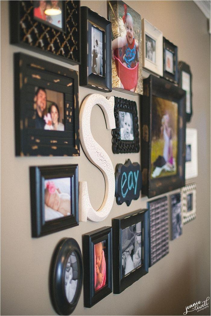 Photo wall collage | DIY | Pinterest | Bilder aufhängen, Aufhängen ...