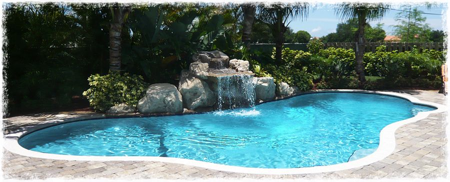 La piscina en miami florida lugares miami florida pinterest swimming pools pool for Swimming pool construction miami