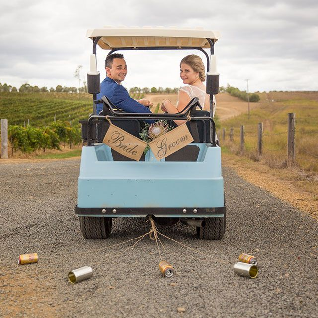 Wedding Dresses Queensland: Vineyard Wedding Queensland: Deanna & Zachary