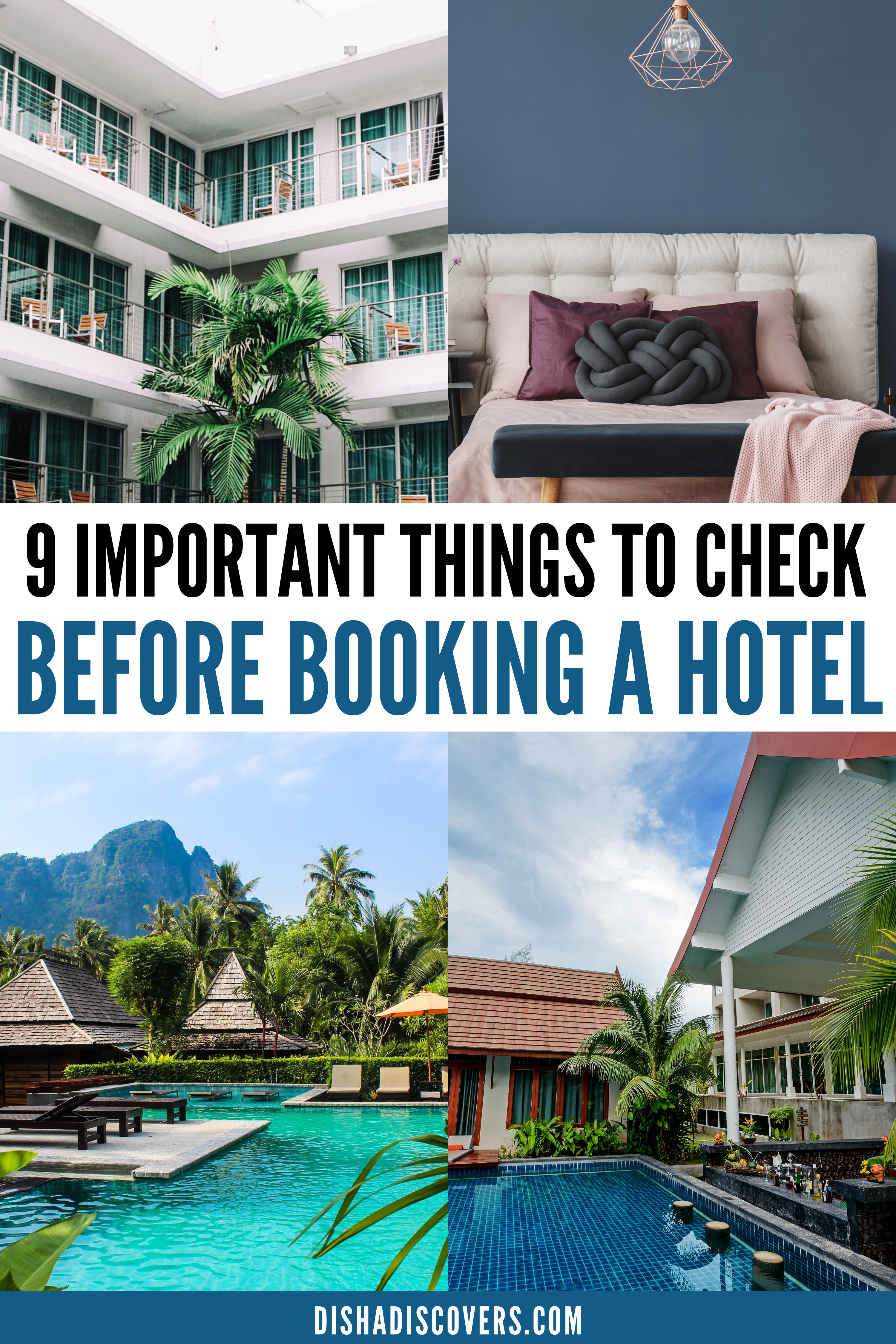 Travel Accommodation Tips 9 Most Important Factors To Consider Before Booking A Hotel Travel Accommodations Booking Hotel Travel