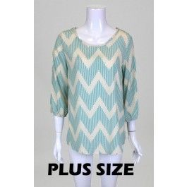 http://www.salediem.com/sales/summer-tops-clearance-curvy/plus-gorgeous-woven-top-with-zig-zag-print-and-3-4-sleeves.html Plus Gorgeous woven top with zig zag print and 3/4 sleeves -#salediem #fashion #women'sfashion #tops #lplus