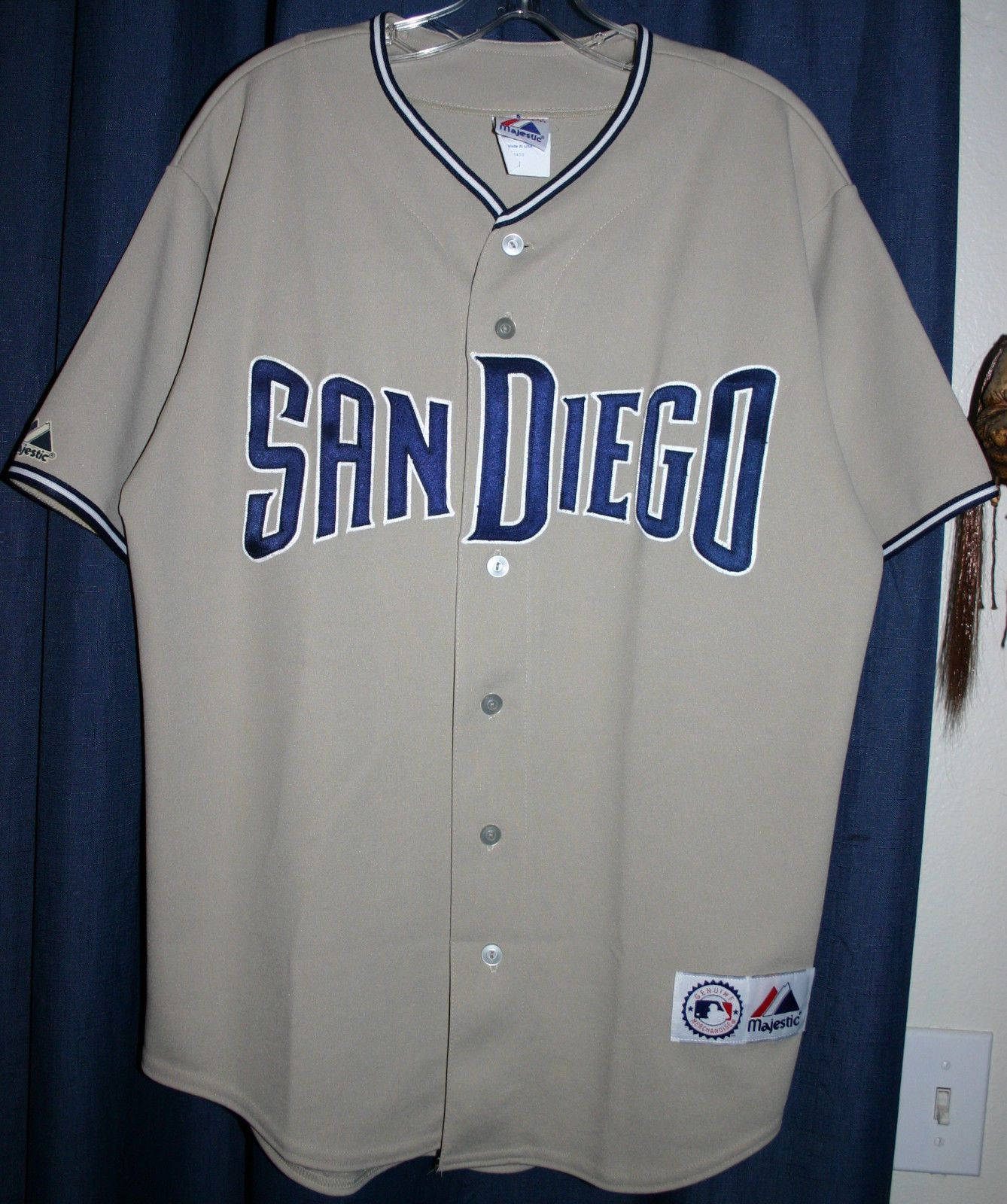 finest selection b049c a1f54 padres away jersey