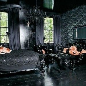 Dark Victorian Bedroom dark victorian gothic bedroom idea , gothic interior design for