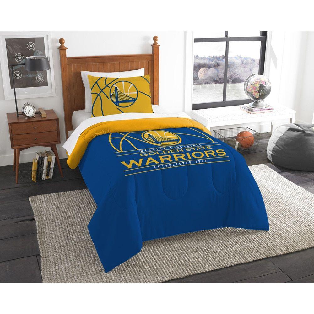 8ea2d68595e The Northwest Company NBA Golden State Warriors Reverse Slam Twin 2-piece Comforter  Set