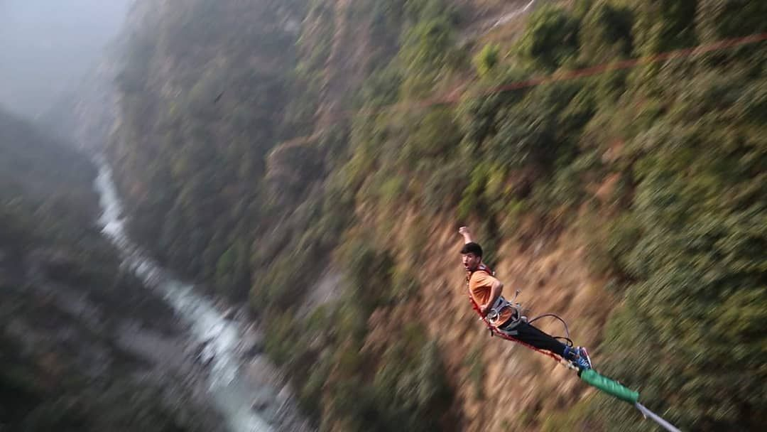 Bungee Jumping In Nepal Complete Guide Price 2021 Updated Bungee Jumping Nepal Mount Everest Rock Climbing Gear