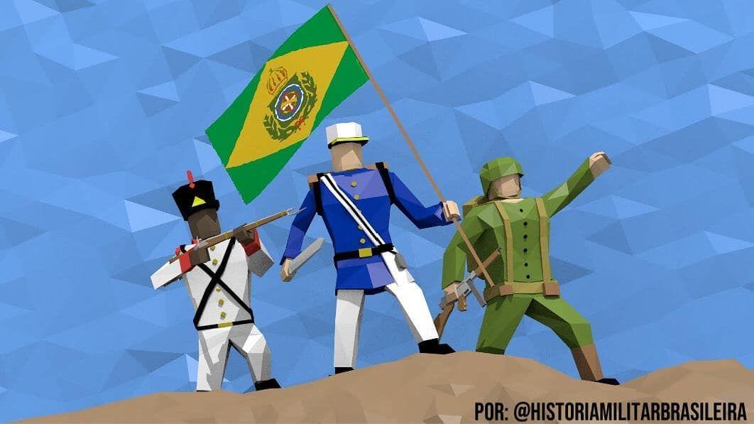 """História Militar Brasileira no Instagram: """". 1000 Seguidores!!! . É com imenso prazer que hoje, a página História Militar Brasileira chega nesta memorável marca de seguidores no…"""""""