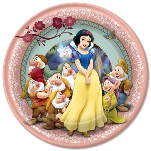 Snow White Lunch Napkins 7in 16ct Sete Anoes Da Branca De Neve