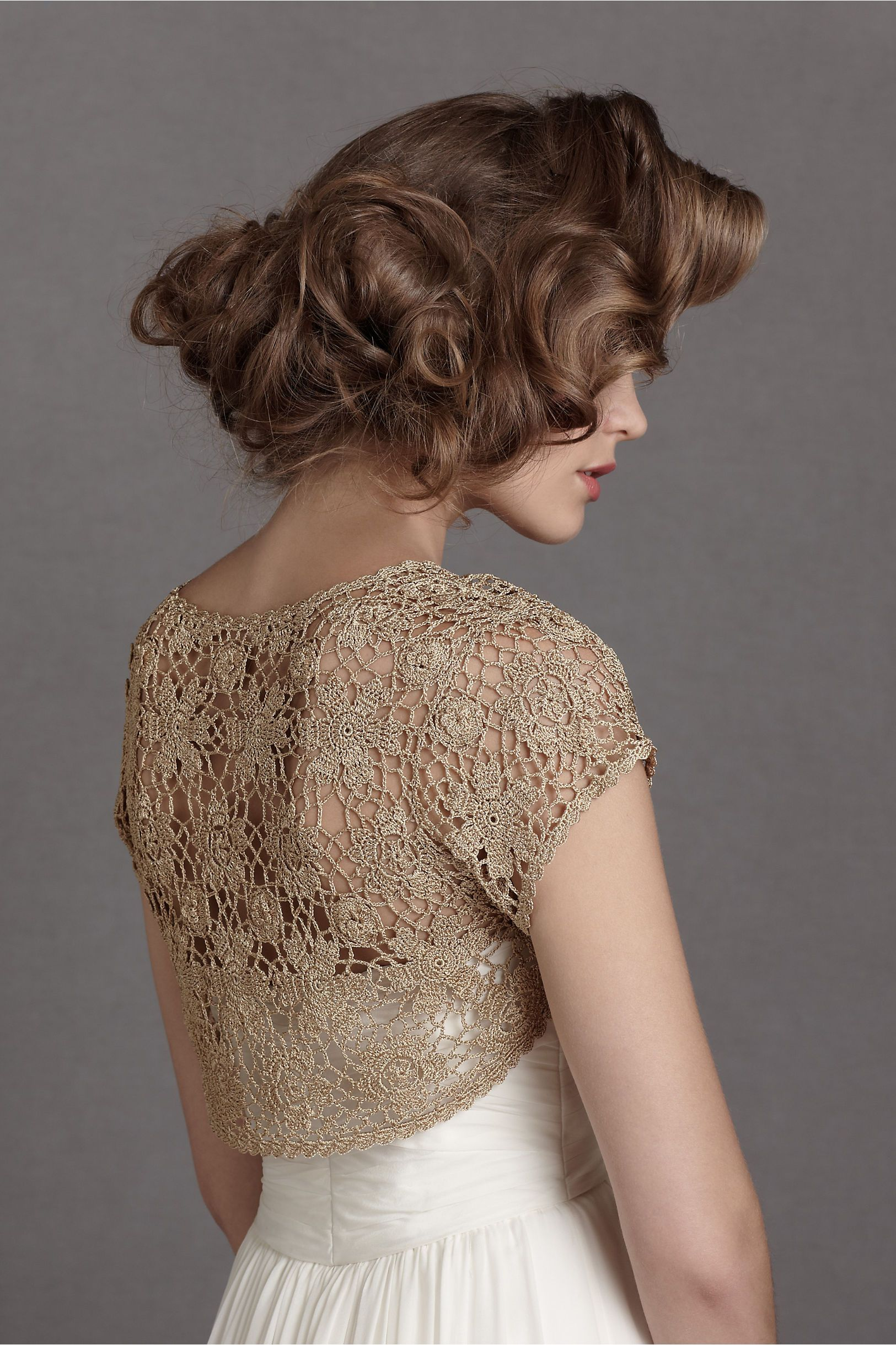 Spun Gold Topper in SHOP Bridesmaids & Partygoers Cover Ups at BHLDN ...