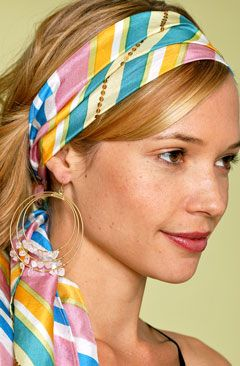 head wraps for spring and summer