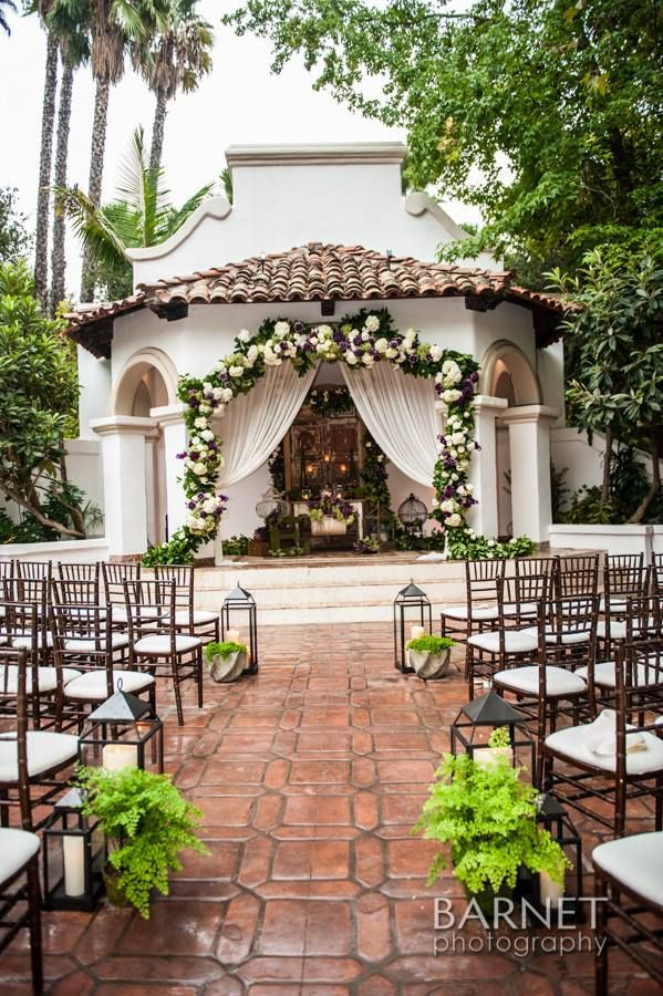 Elegant Outdoor Wedding Venue In Los Angeles