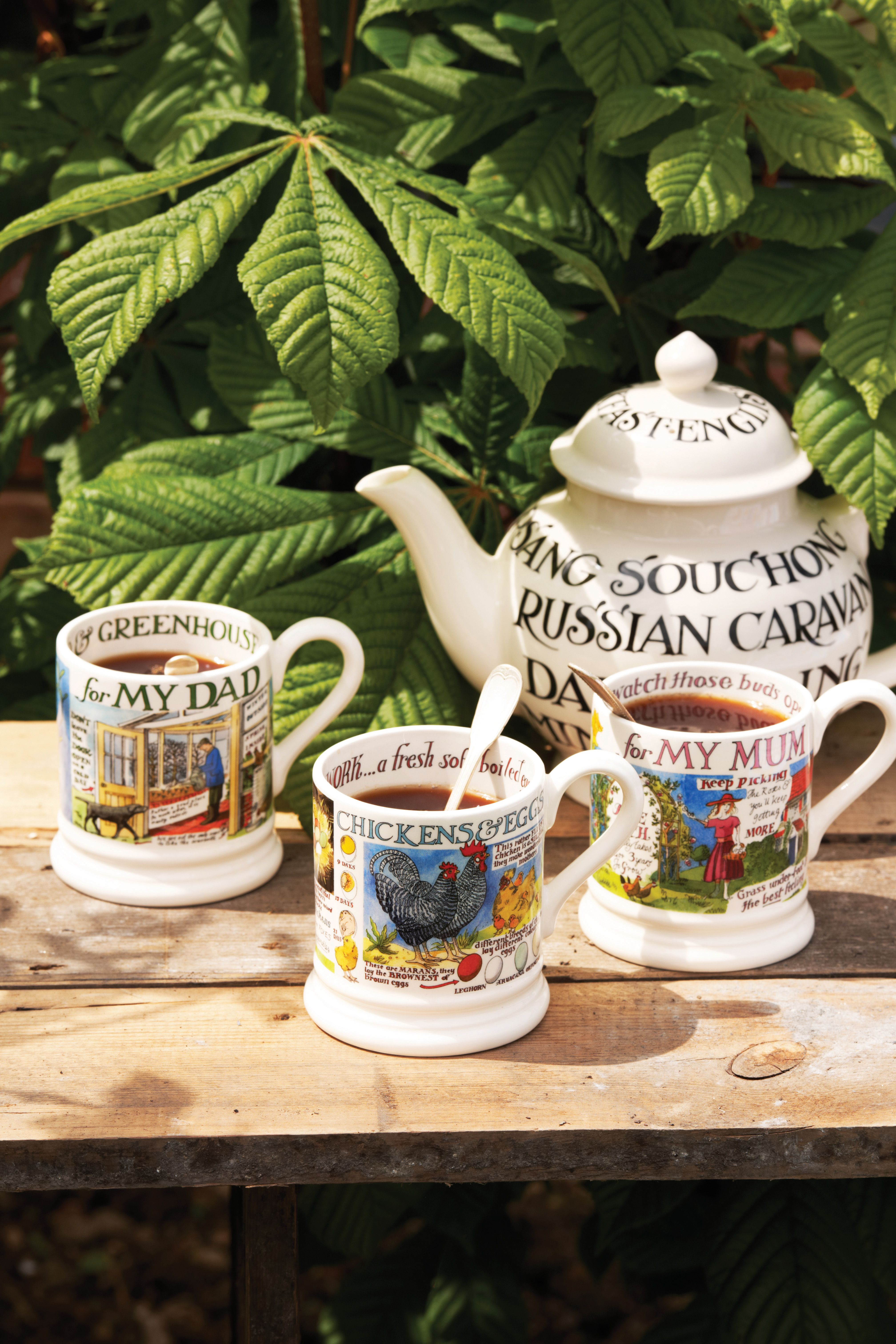 Chinesische Küche Englisch Emma Bridgewater Toast Marmalade Four Cup Teapot And A Year In