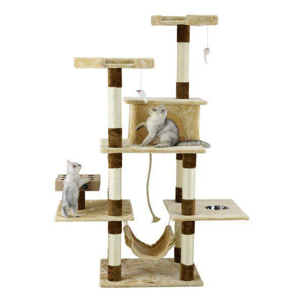 """70"""" IQ Box Cat Tree Cool cat trees, Modern cat tower"""