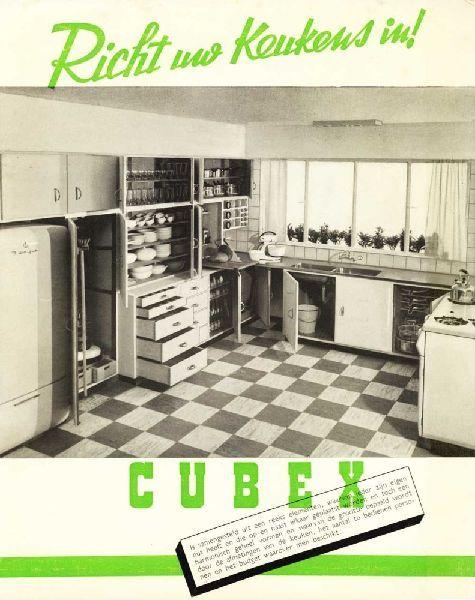 Cuisine cubex 1930 louis herman de koninck favoris for Deco cuisine 1930