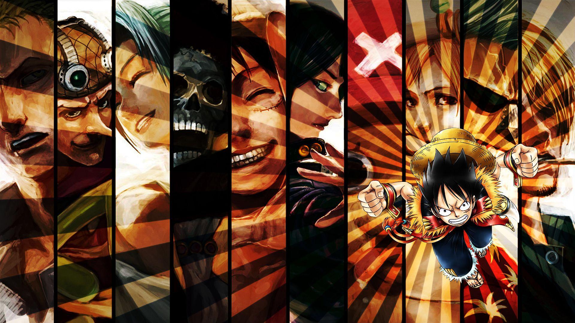 Anime One Piece Wallpaper Dengan Gambar Animasi Wallpaper