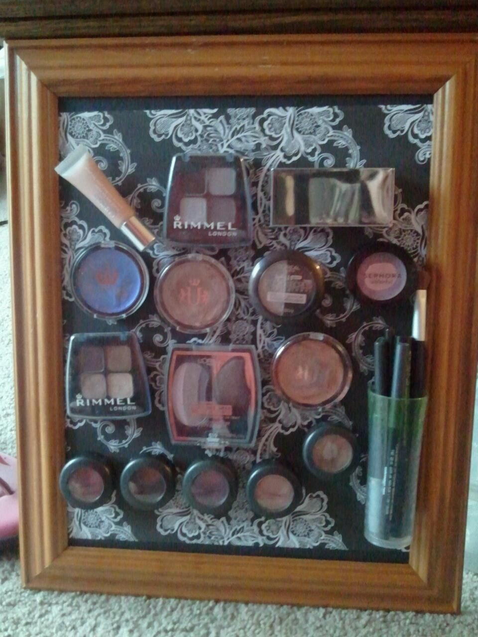 I made a makeup board! So easy and so awesome.
