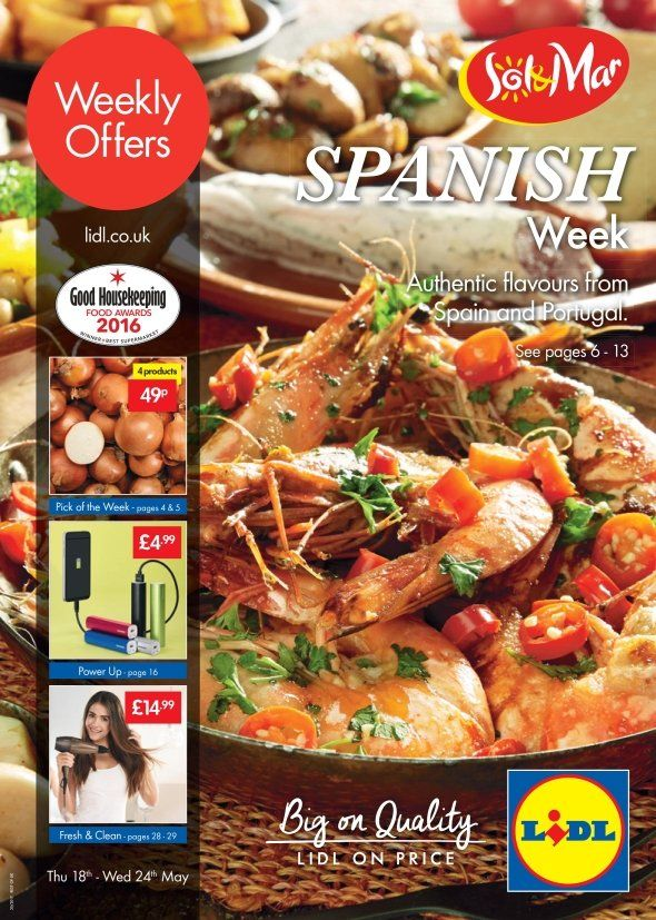 lidl offers leaflet 18th may 24th may 2017 spanish week. Black Bedroom Furniture Sets. Home Design Ideas