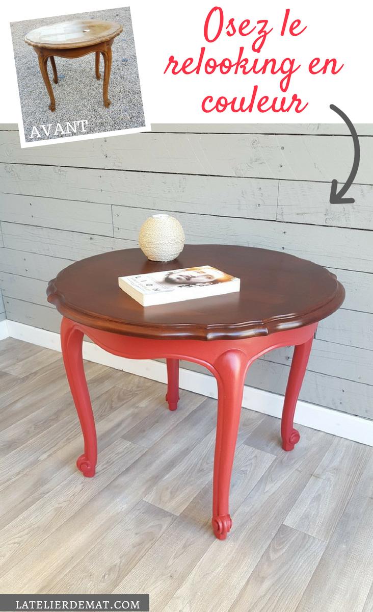 Restyler Une Table Basse Louis Xv Avec De La Couleur Relooker Une Table Basse Table Basse Repeindre Table Basse