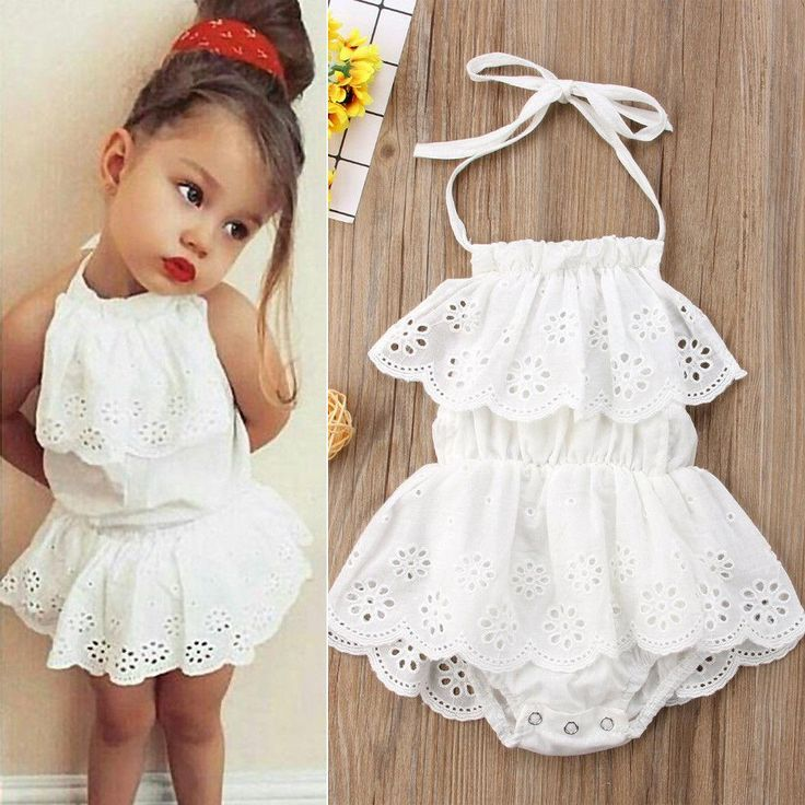6M-5T Babygirls Cute Printed Jumpsuit with Pockets,Headband Sleeveless Jumpsuit Clothes for Little Girls Bodysuit