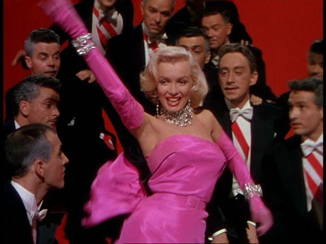 Gentlemen Prefer Blondes (1953 | Pink gowns, Girls and Gentleman