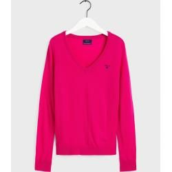 Photo of Gant Superfeiner Lambswool Sweater (Pink) GantGant